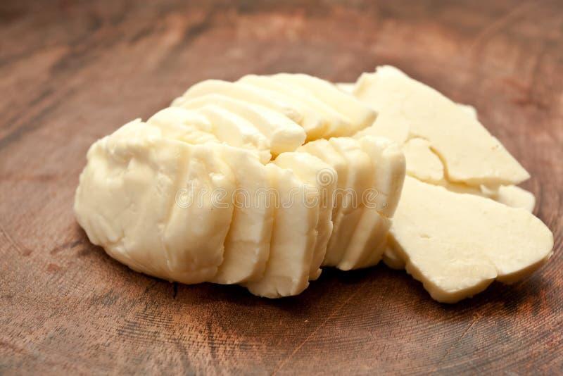 Halloumi Käse lizenzfreie stockbilder