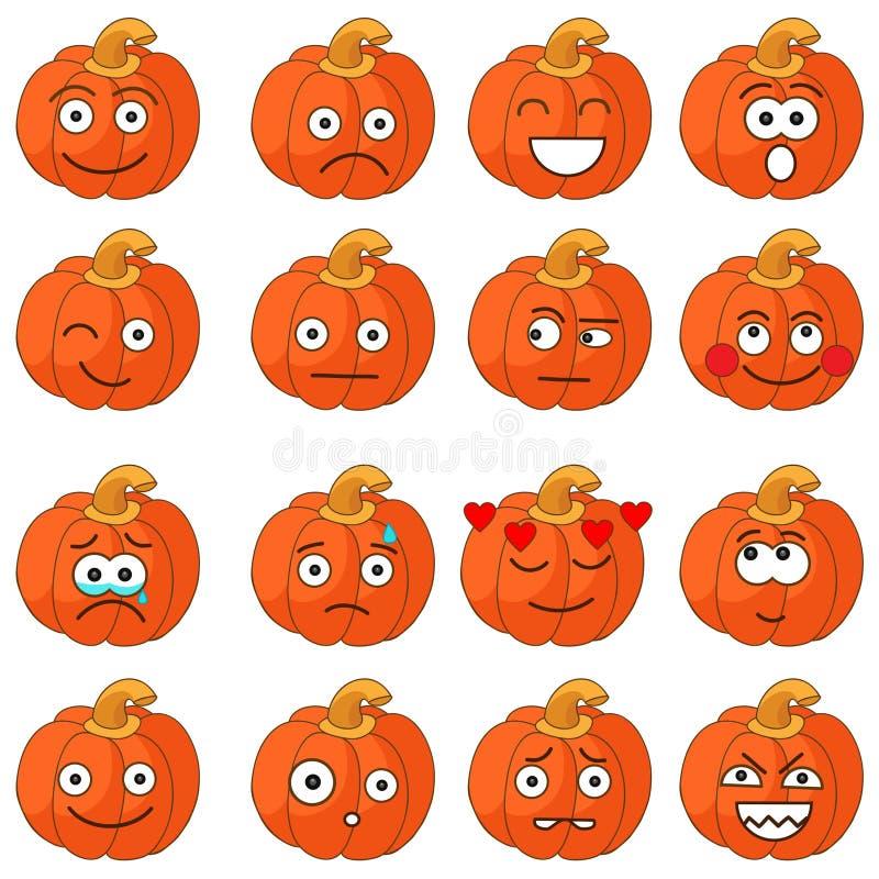 halloween śliczne banie royalty ilustracja