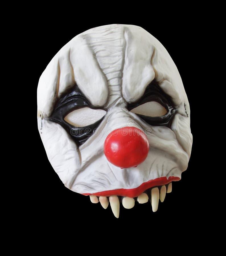 halloween изолировал маску страшную стоковое фото