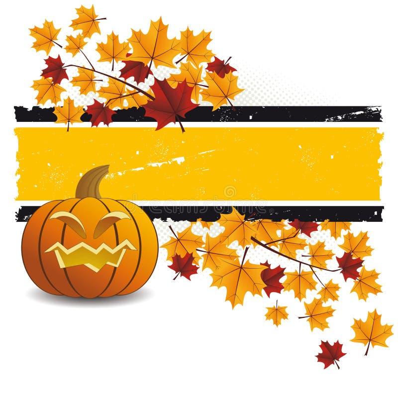 halloween листает тыква бесплатная иллюстрация