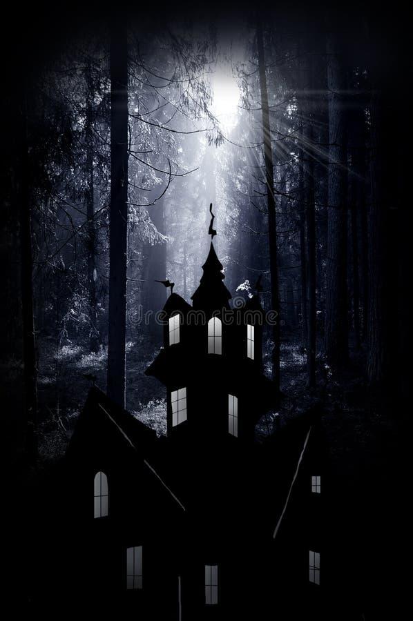 Halloween. Ноча стоковая фотография rf