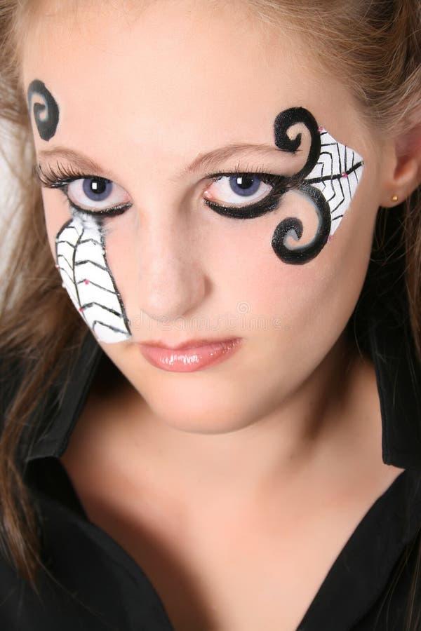 halloween предназначенный для подростков стоковое изображение