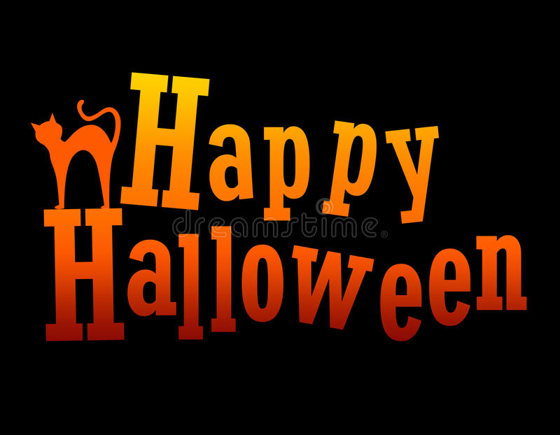 Halloween счастливый Стоковые Изображения