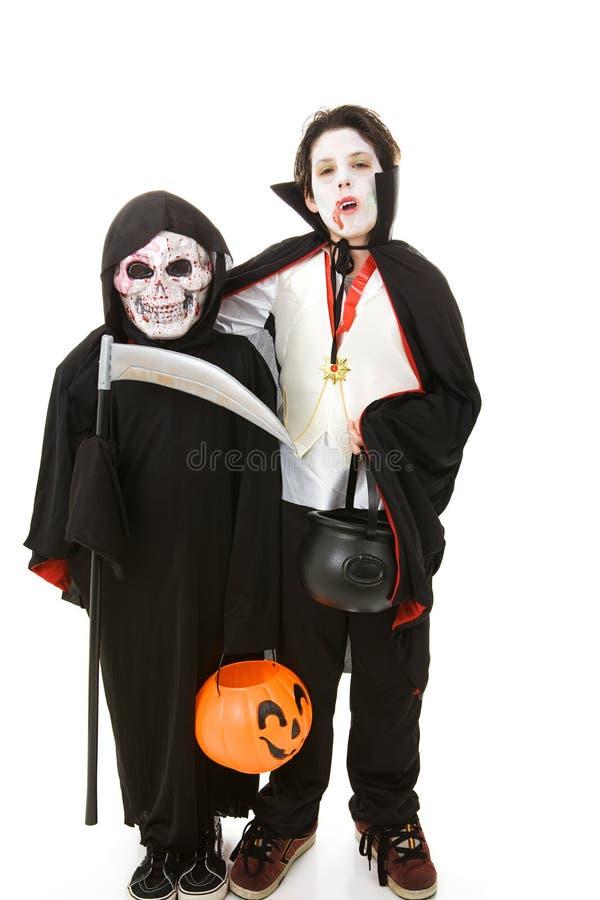 halloween ягнится изверги стоковые изображения