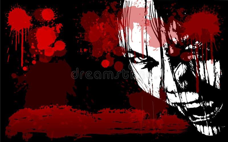 Halloween 085 ilustração do vetor
