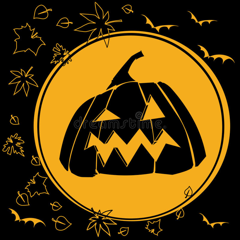 Download Halloween vector illustratie. Illustratie bestaande uit donker - 10776455