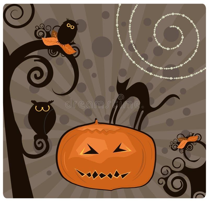 Halloween lizenzfreie abbildung