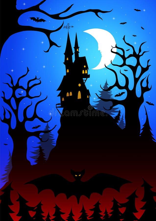 Halloween_5 ilustración del vector