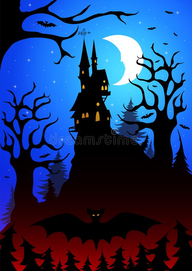 Halloween_5 向量例证