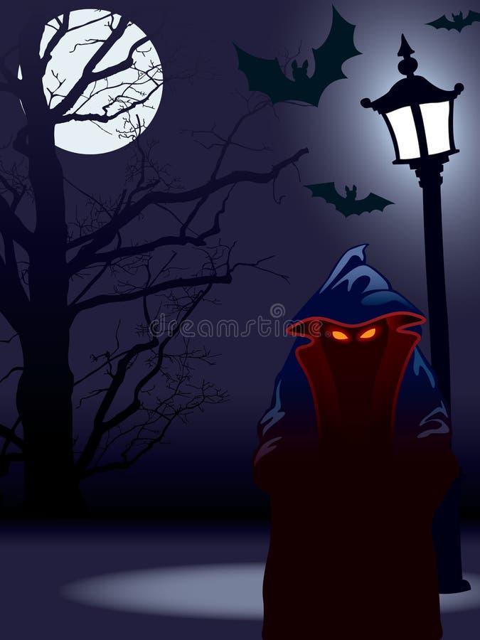 Halloween ilustração do vetor