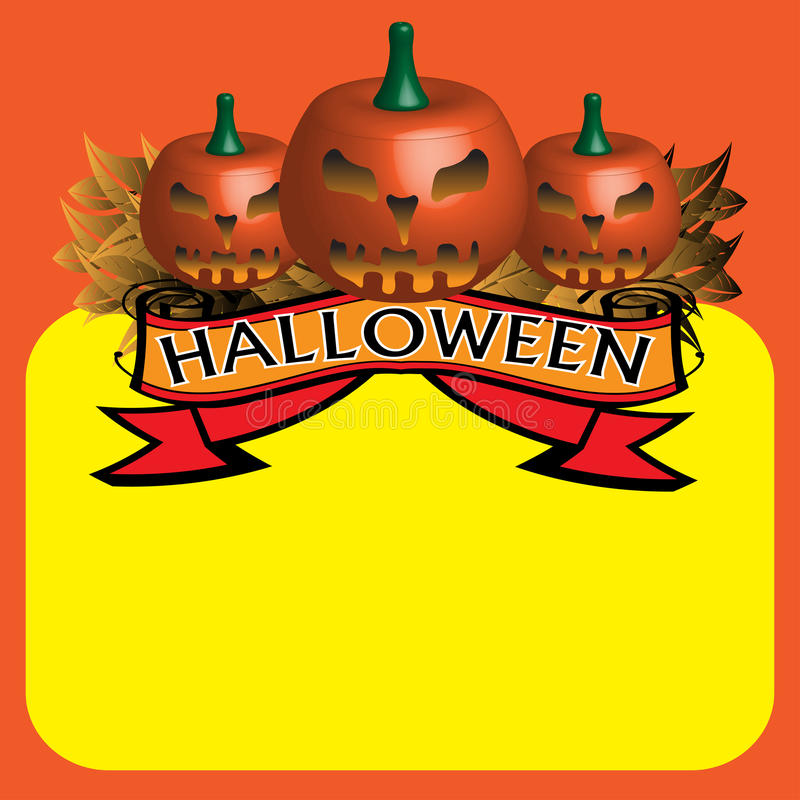 Download Halloween stock vector. Image of seasonal, artistic, autumn - 16251110