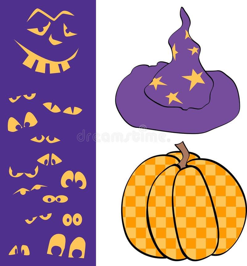 Halloween 2 vector illustratie