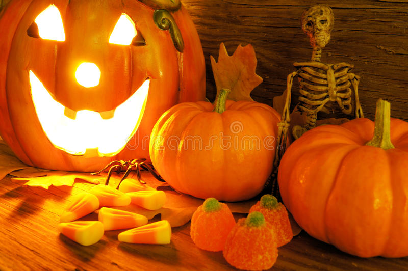 Download Halloween stock photo. Image of decor, macro, lantern - 21271782
