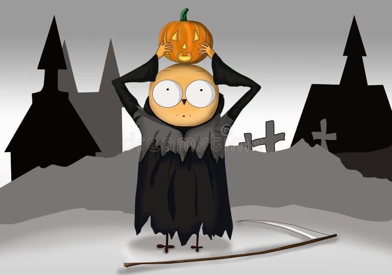 Download Halloween stock illustration. Image of horror, dark, creepy - 26663806