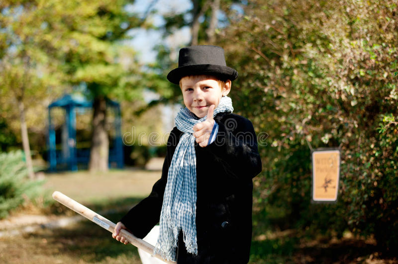 Download Halloween stock photo. Image of candle, broom, child - 27483404