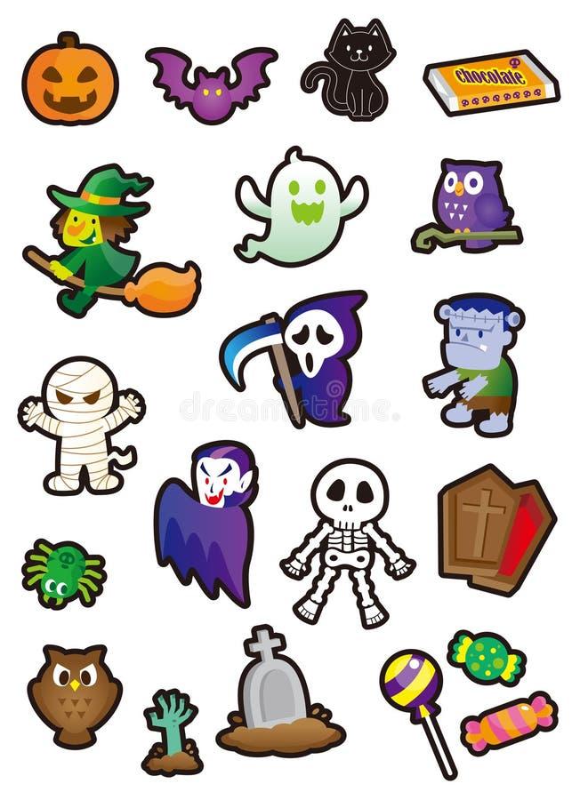Halloween illustration libre de droits