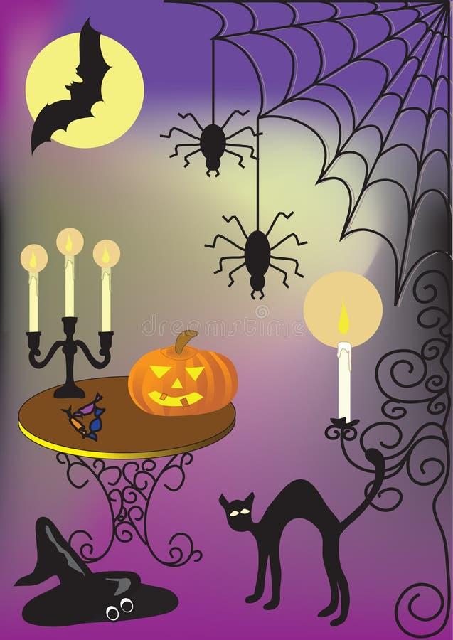 Halloween ilustração royalty free