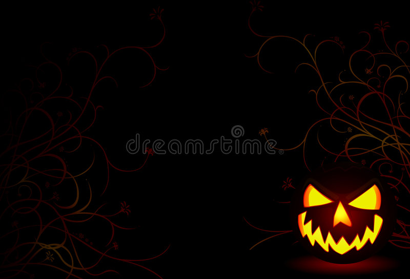 Download Halloween stock illustration. Illustration of black, horror - 3241533
