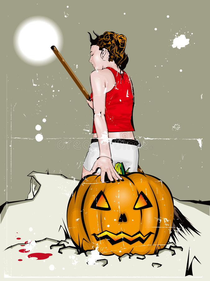 Halloween. Fotografia Stock