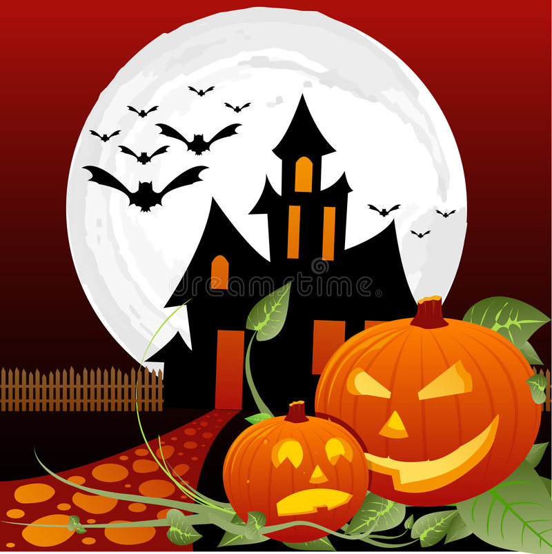 Halloween royalty free illustration