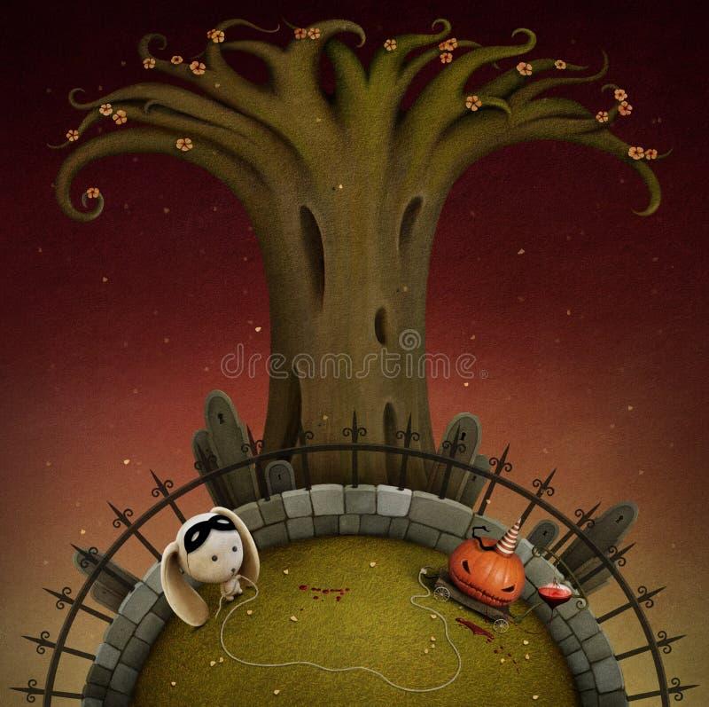 Halloween. stock de ilustración