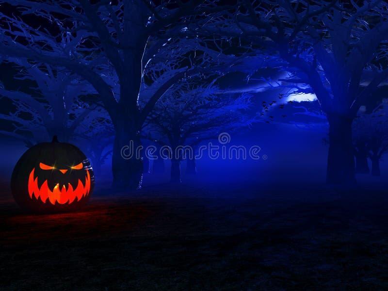 Halloween illustration stock