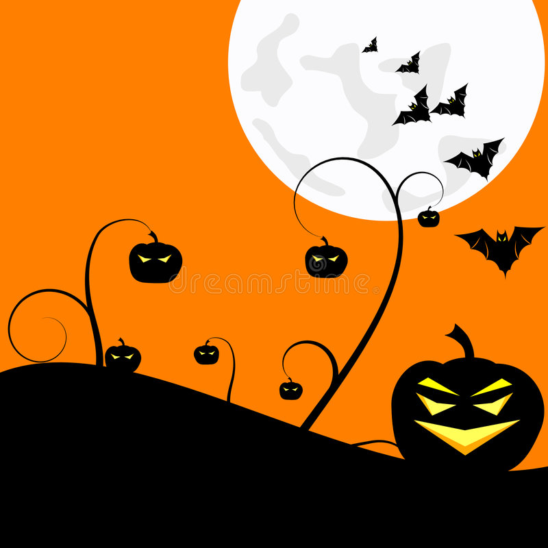 Halloween illustrazione di stock