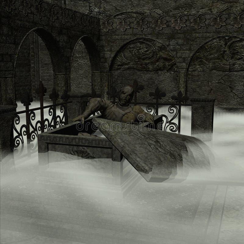 Halloween 5 royalty-vrije illustratie