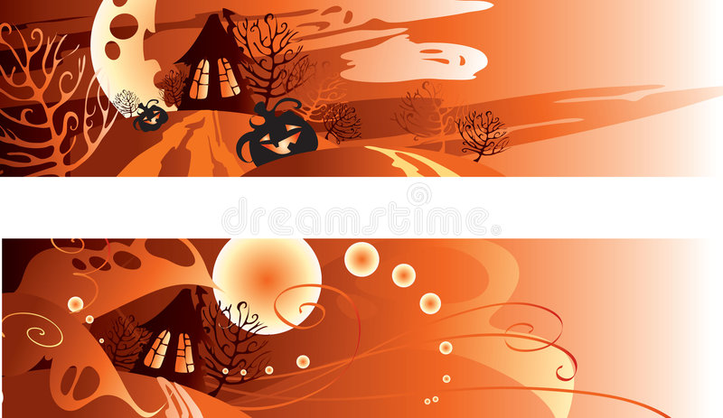 Download Halloween stock vector. Image of ornament, oktober, fall - 6674707