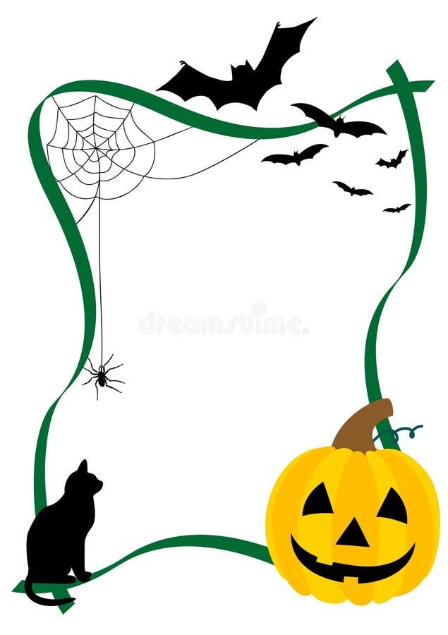 Halloween-Abbildung lizenzfreie abbildung