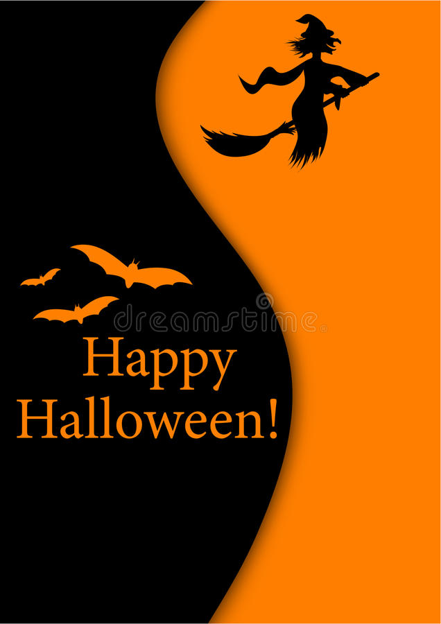 Halloween-Abbildung stock abbildung