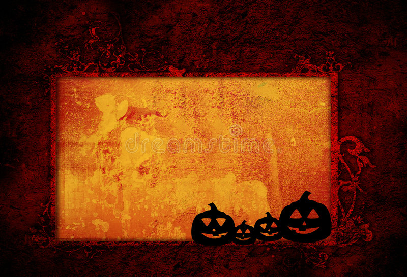 Halloween abstract Background royalty free illustration