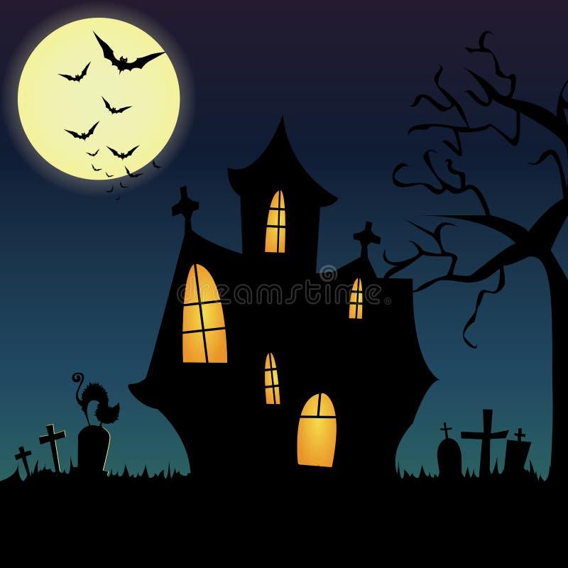 Download Halloween stock vector. Image of halloween, tree, celebration - 34548589