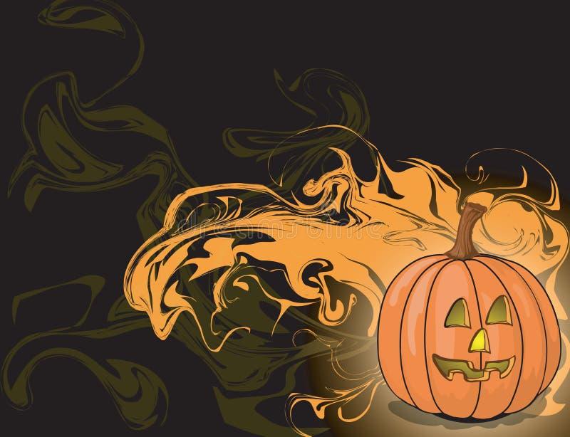 Halloween-abstrakter Hintergrund lizenzfreie abbildung