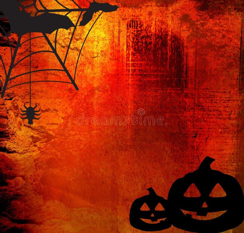 Halloween-abstrakter Hintergrund vektor abbildung