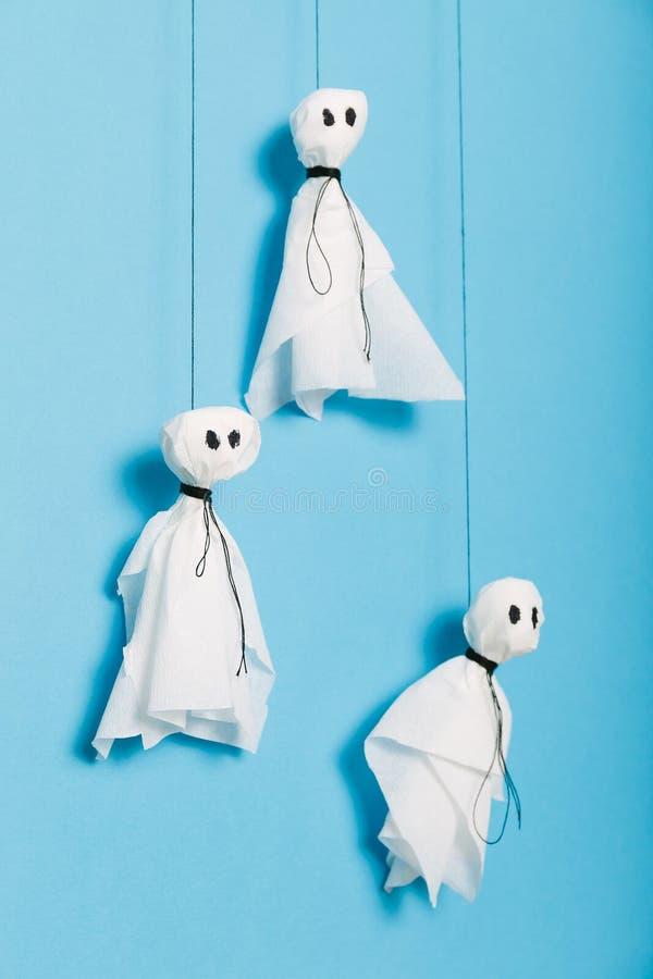 Halloween-activiteitenambacht, enge spokensamenstelling voor jonge geitjes royalty-vrije stock afbeeldingen