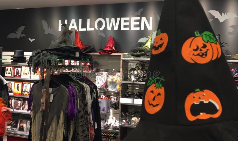 Halloween-afdeling royalty-vrije stock fotografie