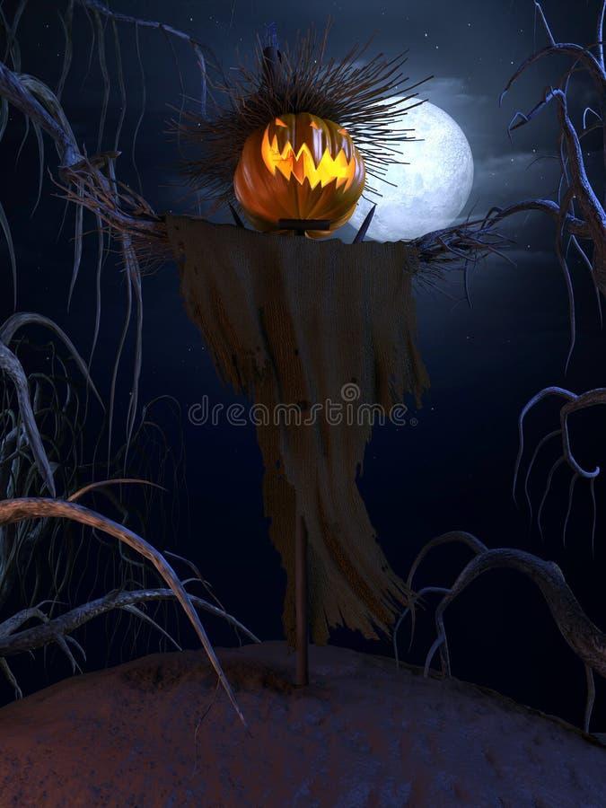 halloween affisch vektor illustrationer