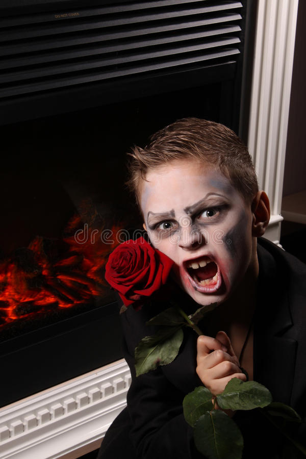 Download Halloween stock image. Image of aggression, flower, vampire - 35284859