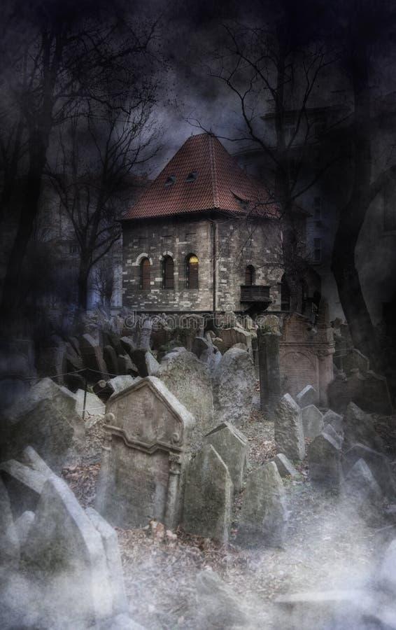 Halloween-Ambiente stockbild
