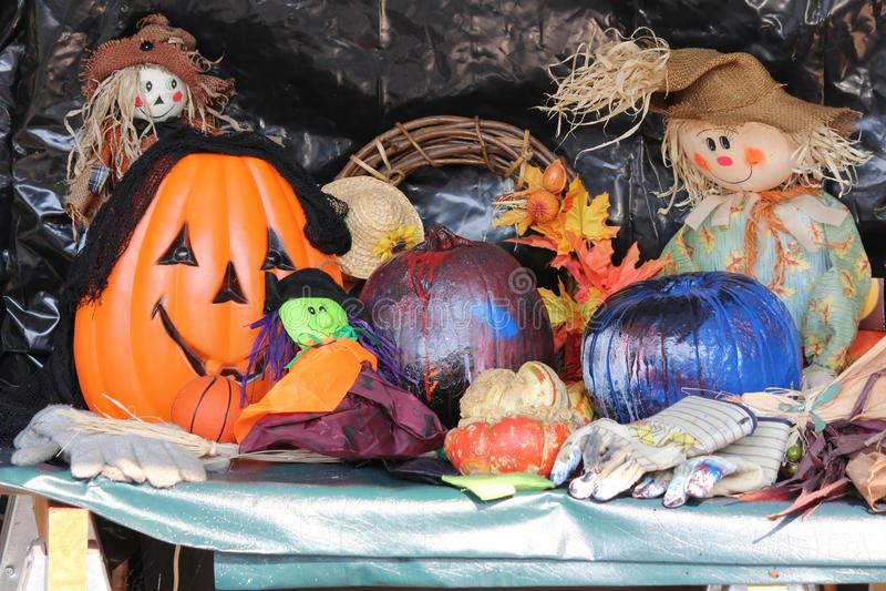 Halloween-Anzeige stockfotos