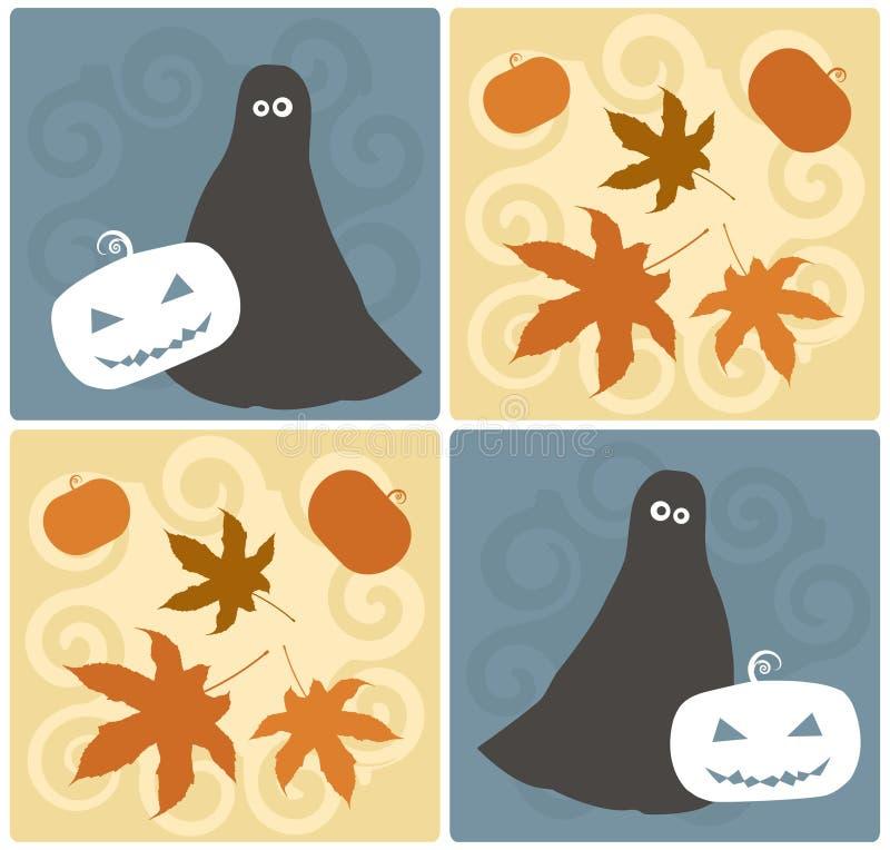 Halloween-Auslegung-Elemente vektor abbildung