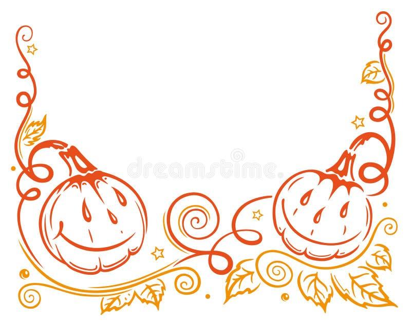 Halloween, autumn stock illustration