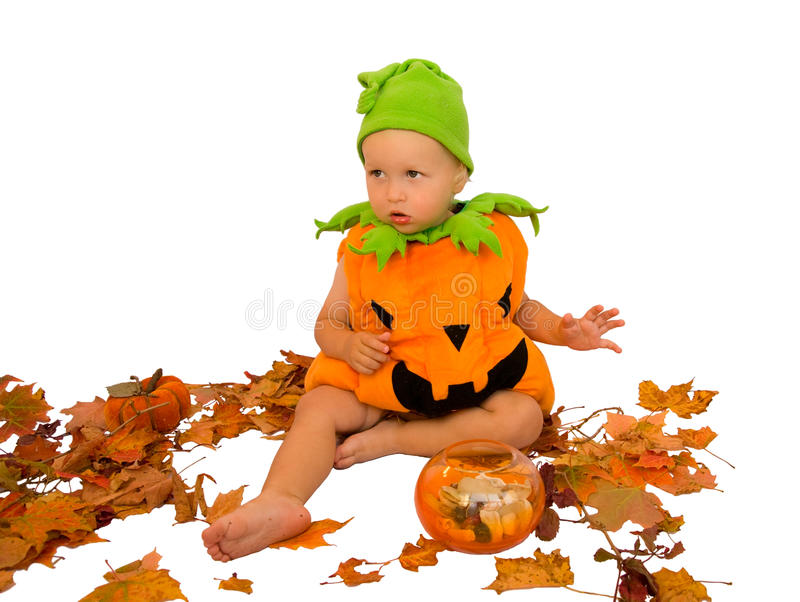 Halloween baby royalty free stock images