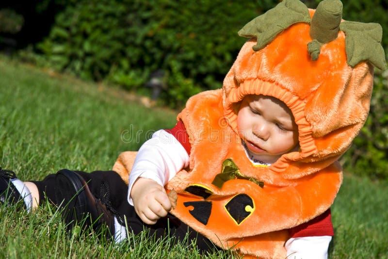 Halloween Baby Royalty Free Stock Photography