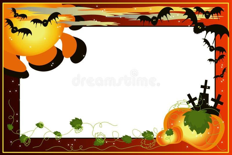 Halloween background. stock illustration