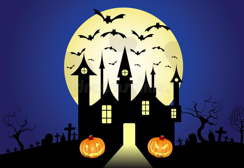 Download Halloween background stock vector. Image of abstract - 16435752