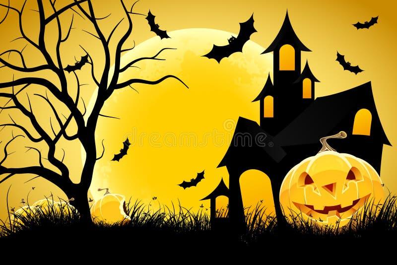 Halloween background stock photography