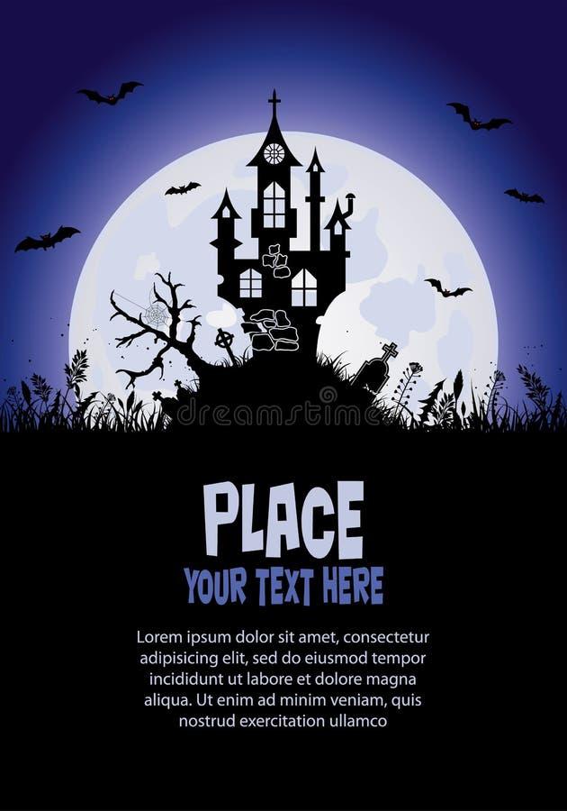 Download Halloween background stock vector. Image of creative - 21124024