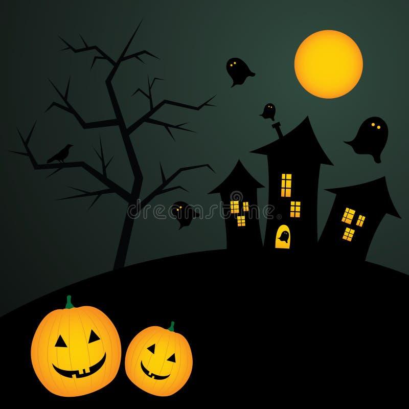 Download Halloween background stock vector. Illustration of pumpkin - 21262361